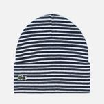 Мужская шапка Lacoste Live Print Jacquard Beanie Wnite/Navy фото- 0