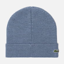 Шапка Lacoste Ribbed Wool Beanie Cruise фото- 1