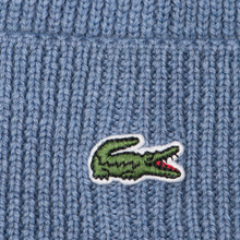 Шапка Lacoste Ribbed Wool Beanie Cruise фото- 2
