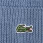 Шапка Lacoste Ribbed Wool Beanie Cruise фото - 2
