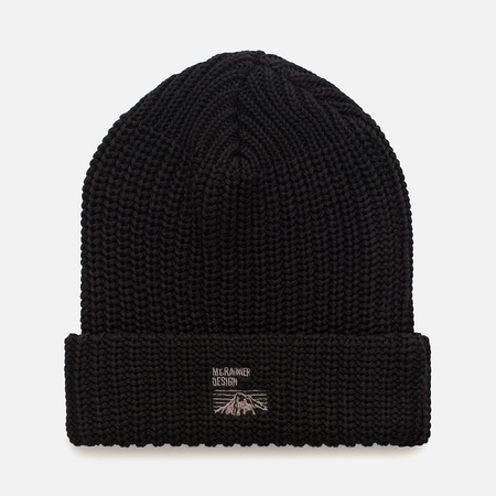 Мужская шапка Mt. Rainier Design Knit Black