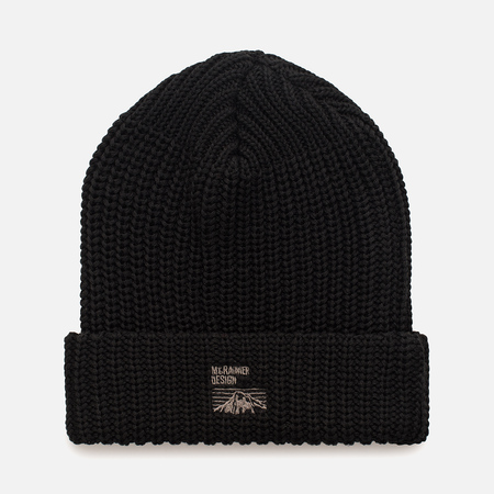 Мужская шапка Mt. Rainier Design Knit Black