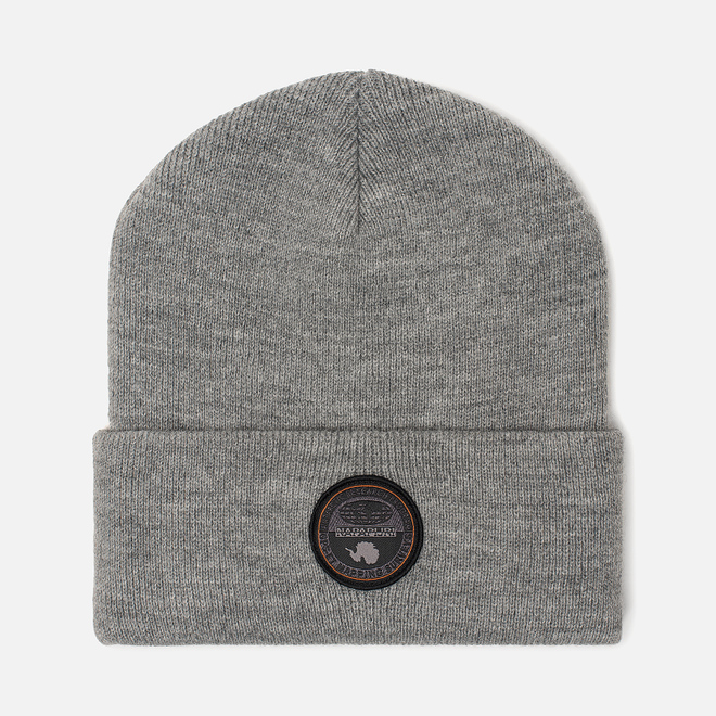 Шапка Napapijri Fulton Medium Grey Melange