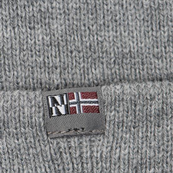Шапка Napapijri Fulton Medium Grey Melange