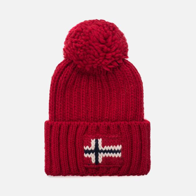 Мужская шапка Napapijri Semiury 1 Sparkling Red