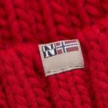 Мужская шапка Napapijri Semiury 1 Sparkling Red фото- 1