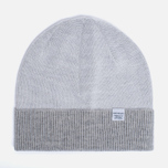 Мужская шапка Norse Projects Double Faced Beanie Lucid White фото- 0