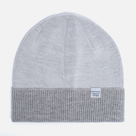 Мужская шапка Norse Projects Double Faced Beanie Lucid White
