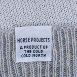 Мужская шапка Norse Projects Double Faced Beanie Lucid White фото- 1