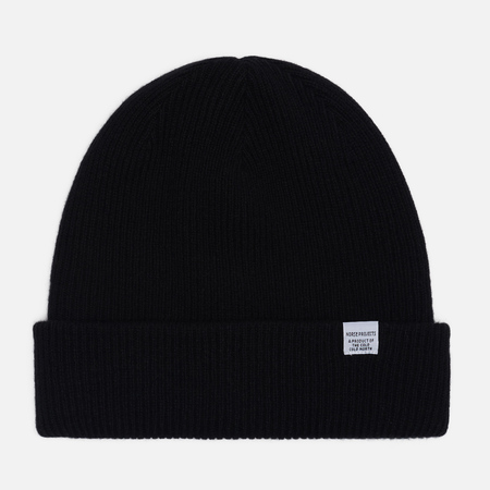 Шапка Norse Projects Norse Beanie Black