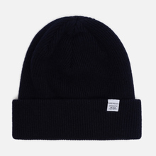 Шапка Norse Projects Norse Beanie Dark Navy фото- 0
