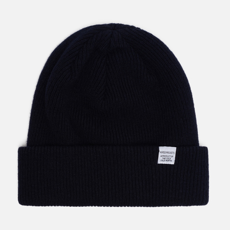 Шапка Norse Projects Norse Beanie Dark Navy