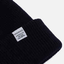 Шапка Norse Projects Norse Beanie Dark Navy фото- 1