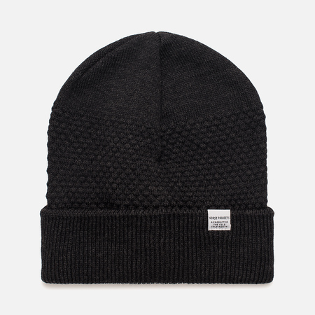 Мужская шапка Norse Projects Norse Bubble Beanie Charcoal