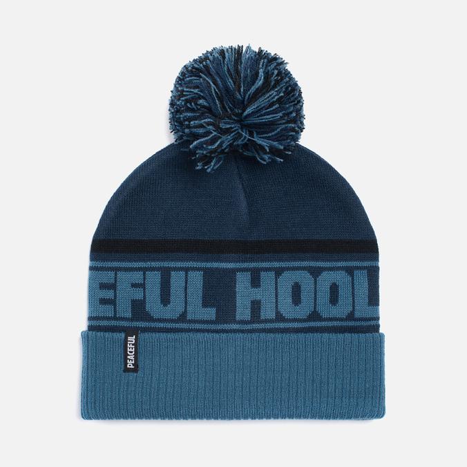 Мужская шапка Peaceful Hooligan La Bomba Beanie Navy