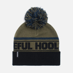 Мужская шапка Peaceful Hooligan La Bomba Beanie Olive фото- 0
