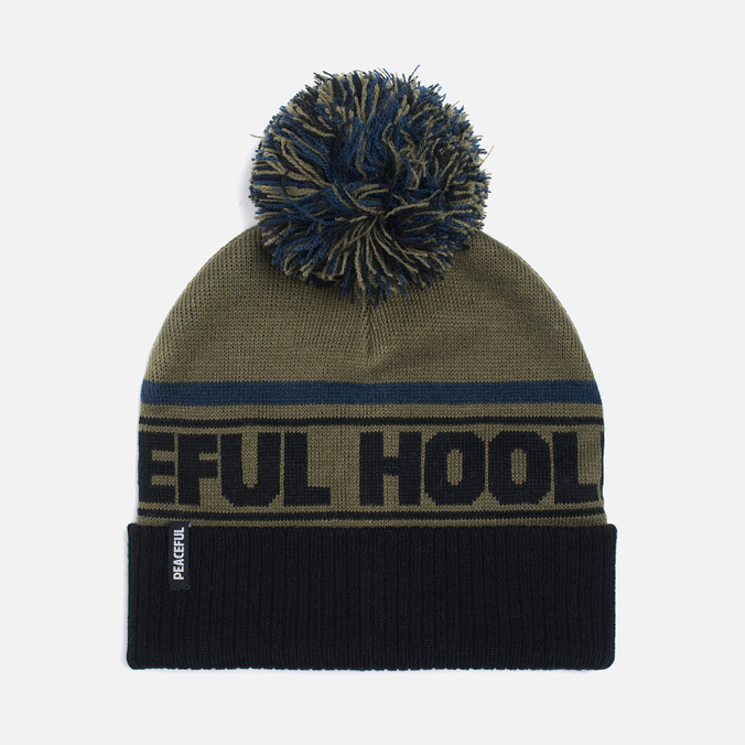 Мужская шапка Peaceful Hooligan La Bomba Beanie Olive