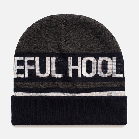 Мужская шапка Peaceful Hooligan Signature Beanie Navy
