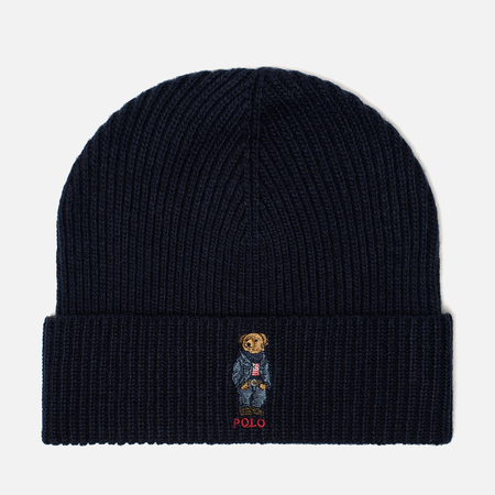 Мужская шапка Polo Ralph Lauren Jean Bear Hunter Navy