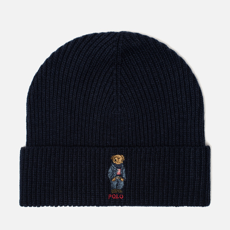Шапка Polo Ralph Lauren Jean Bear Hunter Navy