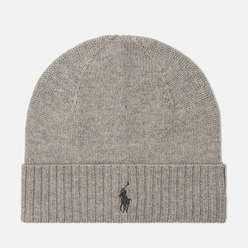 Шапка Polo Ralph Lauren Merino Wool Fawn Charcoal Heather