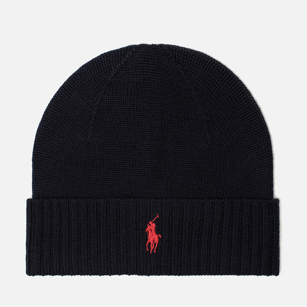 Шапка Polo Ralph Lauren Merino Wool Hunter Navy