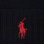 Шапка Polo Ralph Lauren Merino Wool Hunter Navy фото- 1