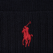 Шапка Polo Ralph Lauren Merino Wool Hunter Navy фото- 1