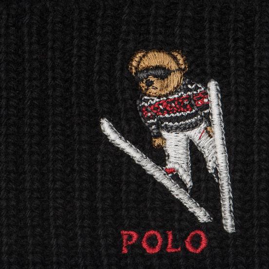 Шапка Polo Ralph Lauren Ski Bear Acrylic Blend Black