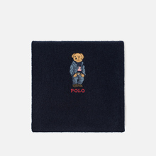 Шарф Polo Ralph Lauren SW Bear Acrylic Blend Hunter Navy фото- 0