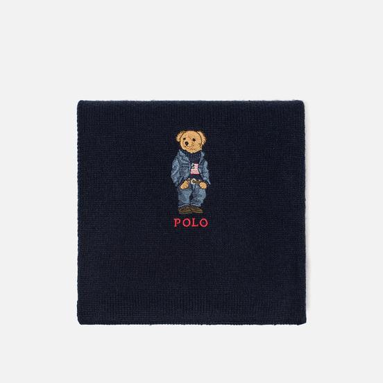 Шарф Polo Ralph Lauren SW Bear Acrylic Blend Hunter Navy