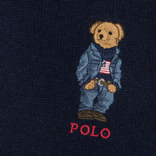 Шарф Polo Ralph Lauren SW Bear Acrylic Blend Hunter Navy фото- 2