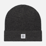 61c431654cf Шапка Reigning Champ Knit Merino Wool Classic Beanie Heather Charcoal фото-  0