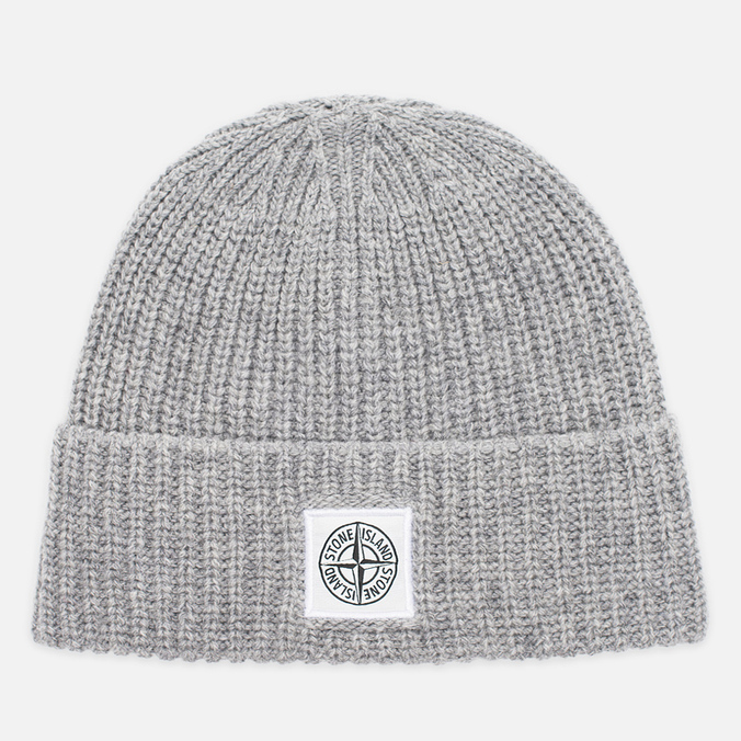 Stone Island Ribbed Men's Hat Grey