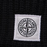 Мужская шапка Stone Island Ribbed Wool Hood Black фото- 1