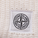Мужская шапка Stone Island Ribbed Wool Hood White фото- 1