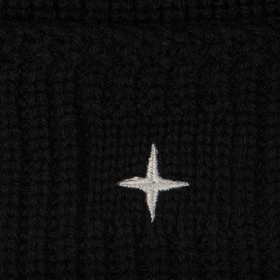 Шапка Stone Island Small Stone Island Star Embroidered Black