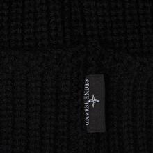 Шапка Stone Island Small Stone Island Star Embroidered Black фото- 2