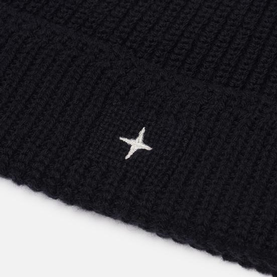 Шапка Stone Island Small Stone Island Star Embroidered Black