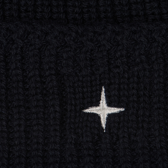 Шапка Stone Island Small Stone Island Star Embroidered Navy Blue