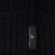 Шапка Stone Island Small Stone Island Star Embroidered Navy Blue фото- 2