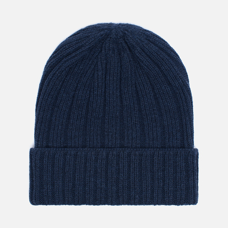 Мужская шапка The Hill-Side Knit Irish Wool Navy