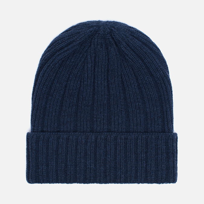 Мужская шапка The Hill-Side Knit Irish Wool Navy