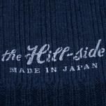 Мужская шапка The Hill-Side Knit Irish Wool Navy фото- 1