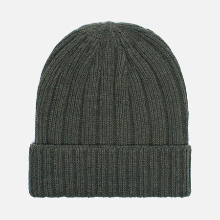 Мужская шапка The Hill-Side Knit Irish Wool Olive