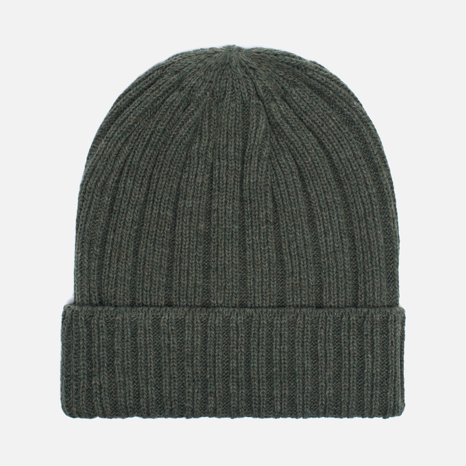 Мужская шапка The Hill-Side Knit Irish Wool Olive