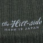 Мужская шапка The Hill-Side Knit Irish Wool Olive фото- 1