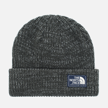 Шапка The North Face Salty Dog Beanie Graphite Grey/Mid Grey