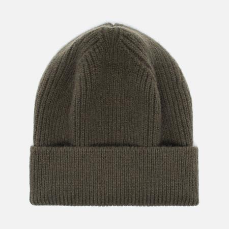 Мужская шапка Universal Works Beanie Lamgora Wool Olive