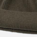 Мужская шапка Universal Works Beanie Lamgora Wool Olive фото- 1